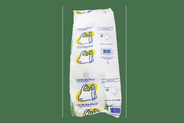 Sacola Embalada Pacote Com 100 Unidades