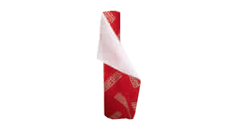Bobina plástica de forração