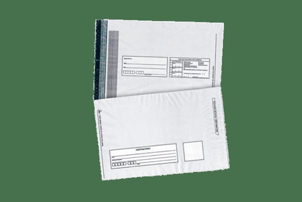 Saco plástico para correios com lacre de segurança