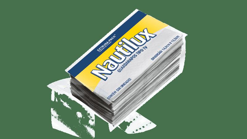 Guardanapo de papel descartável tipo TV Nautilux